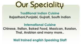 J.Oberoi Caterers india, Traditional Indian Cuisine, Rajasthani food caterers,Punjabi food caterers, Gujrati food caterers, South Indian food caterers India,International Cuisine,Chinese food caterers, Italian food caterers, Baked Food, Maxican food caterers, Russian food caterers, Thai food caterers, Arabian food caterers India.